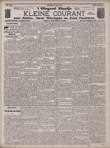Vliegend blaadje : nieuws- en advertentiebode voor Den Helder 1913-06-21