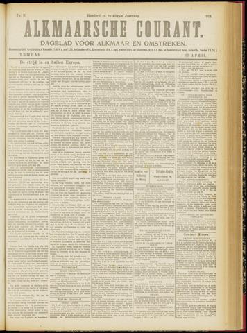 Alkmaarsche Courant 1918-04-19