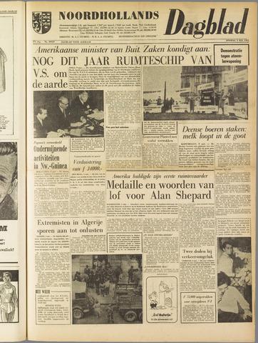 Noordhollands Dagblad : dagblad voor Alkmaar en omgeving 1961-05-09