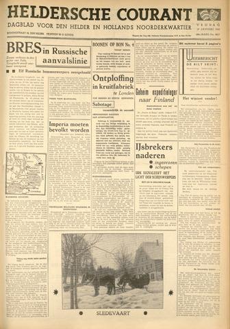 Heldersche Courant 1940-01-19