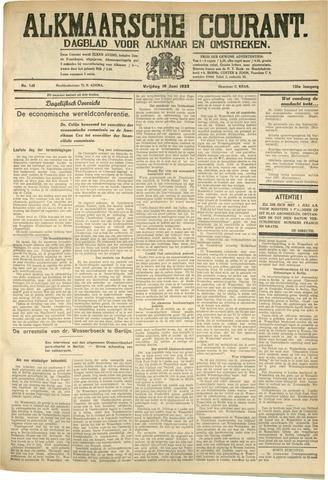 Alkmaarsche Courant 1933-06-16