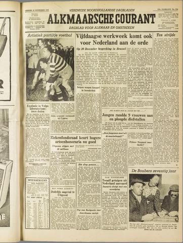 Alkmaarsche Courant 1955-11-25