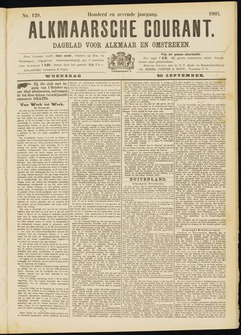 Alkmaarsche Courant 1905-09-20