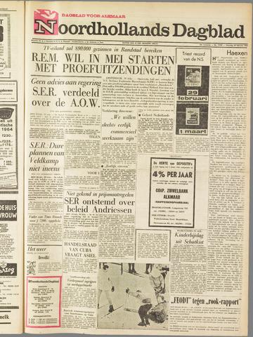 Noordhollands Dagblad : dagblad voor Alkmaar en omgeving 1964-02-29