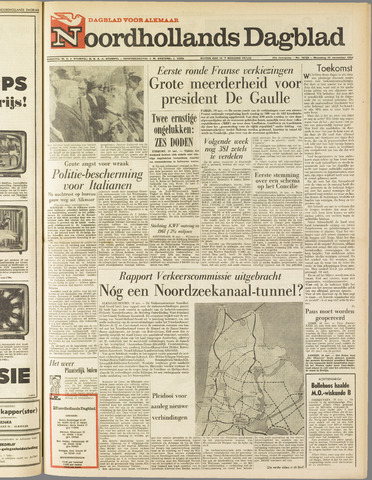 Noordhollands Dagblad : dagblad voor Alkmaar en omgeving 1962-11-19