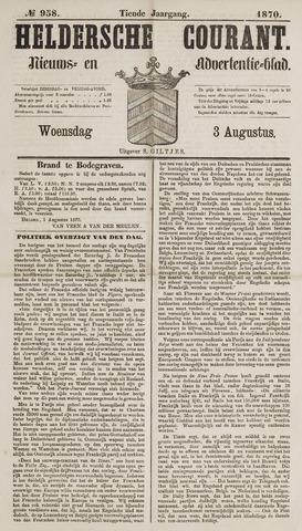 Heldersche Courant 1870-08-03