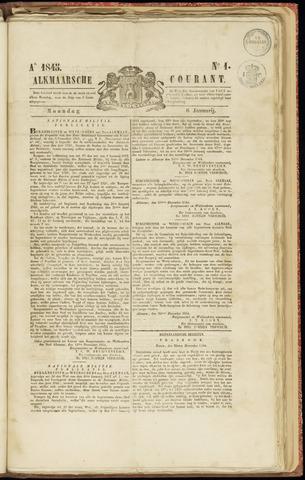 Alkmaarsche Courant 1845-01-06