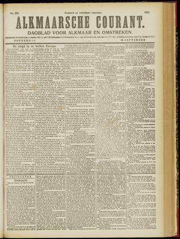 Alkmaarsche Courant 1918-09-26