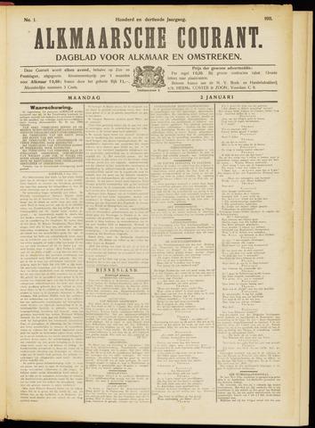 Alkmaarsche Courant 1911-01-02
