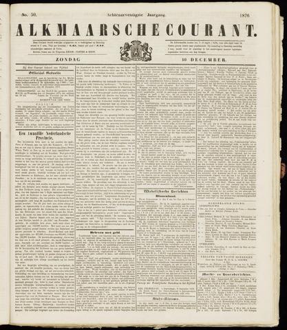 Alkmaarsche Courant 1876-12-10