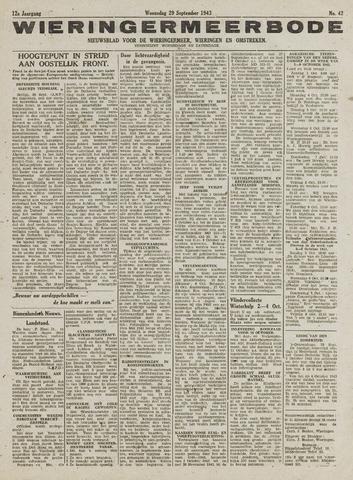 Wieringermeerbode 1943-09-29