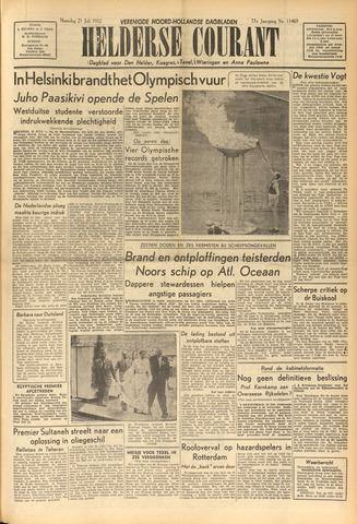 Heldersche Courant 1952-07-21