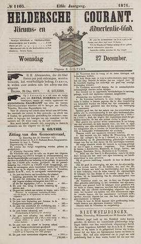 Heldersche Courant 1871-12-27