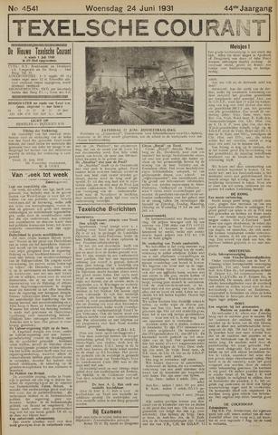 Texelsche Courant 1931-06-24