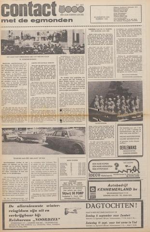 Contact met de Egmonden 1976-08-25