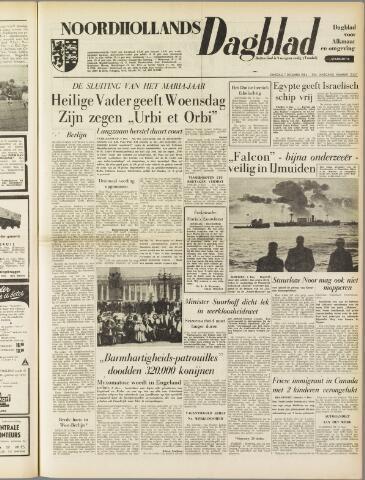 Noordhollands Dagblad : dagblad voor Alkmaar en omgeving 1954-12-07