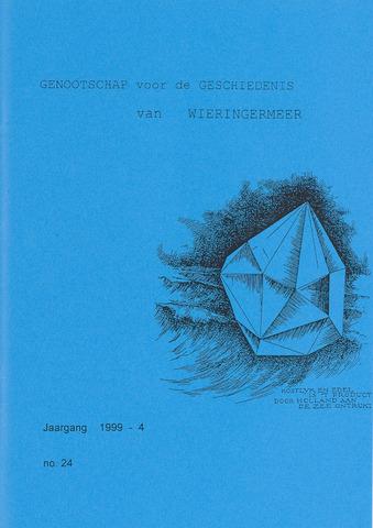 Kroniek Historisch Genootschap Wieringermeer 1999-10-01