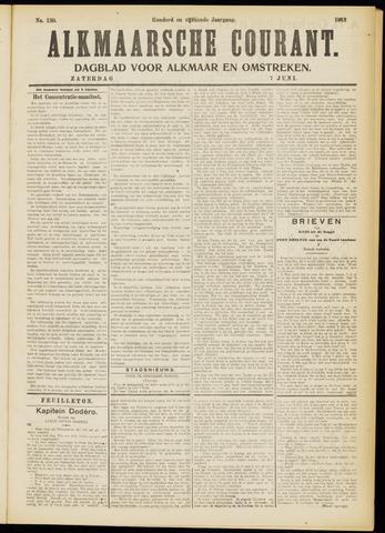 Alkmaarsche Courant 1913-06-07