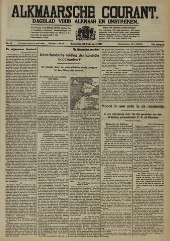 Alkmaarsche Courant 1937-02-27