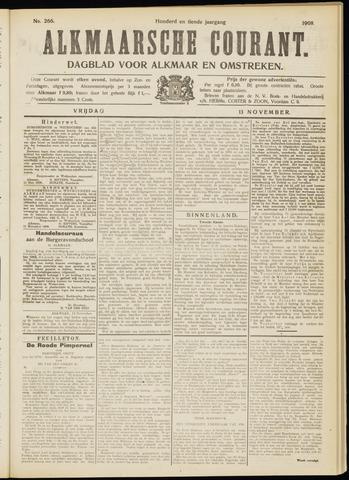 Alkmaarsche Courant 1908-11-13