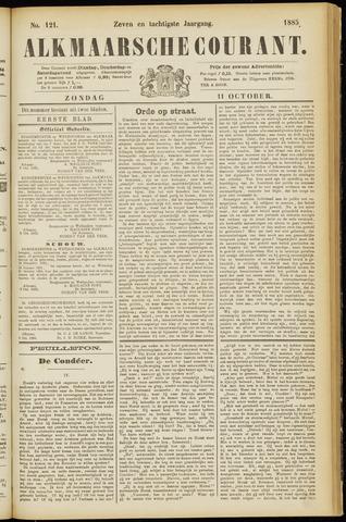 Alkmaarsche Courant 1885-10-11
