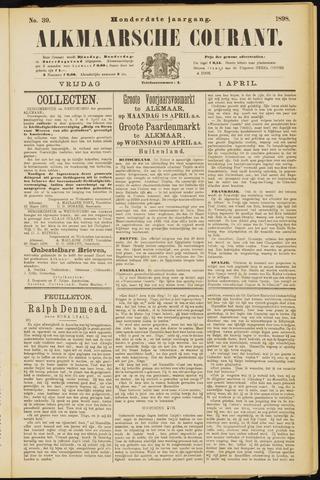 Alkmaarsche Courant 1898-04-01