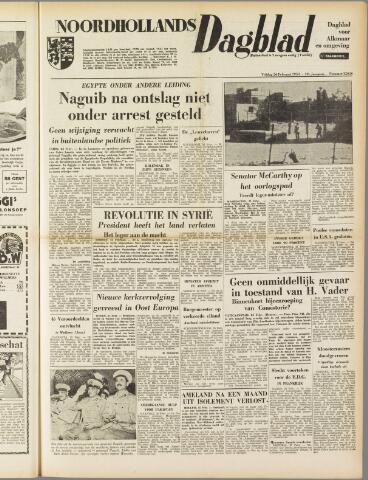Noordhollands Dagblad : dagblad voor Alkmaar en omgeving 1954-02-26