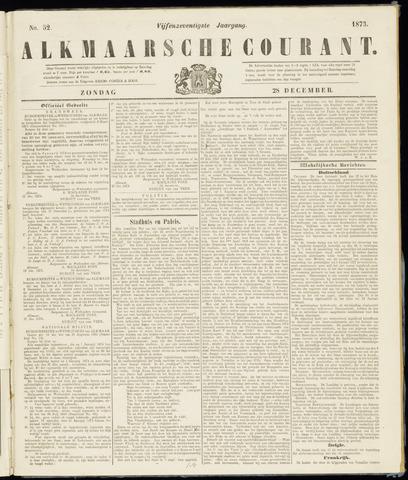 Alkmaarsche Courant 1873-12-28