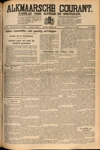 Alkmaarsche Courant 1939-10-07