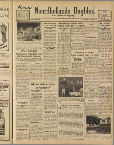 Nieuw Noordhollandsch Dagblad : voor Alkmaar en omgeving 1947-05-23