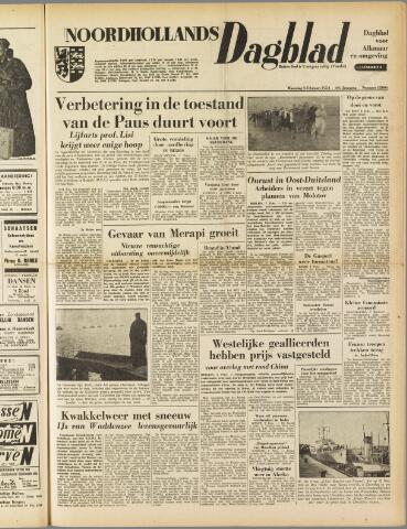 Noordhollands Dagblad : dagblad voor Alkmaar en omgeving 1954-02-08