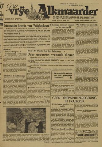 De Vrije Alkmaarder 1946-01-22