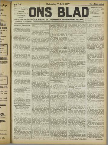 Ons Blad : katholiek nieuwsblad voor N-H 1917-07-07