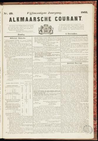 Alkmaarsche Courant 1863-12-06