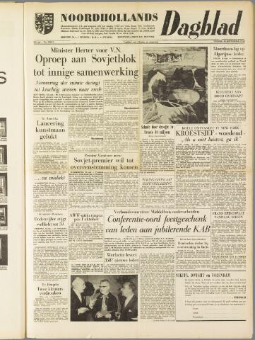 Noordhollands Dagblad : dagblad voor Alkmaar en omgeving 1959-09-18
