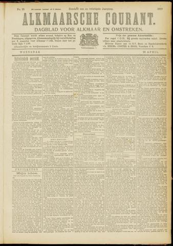 Alkmaarsche Courant 1919-04-23