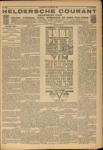 Heldersche Courant 1923-01-25
