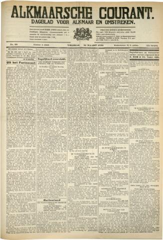 Alkmaarsche Courant 1930-03-21