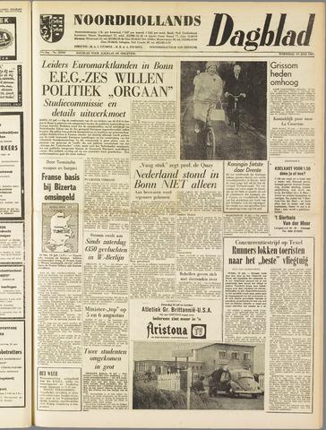 Noordhollands Dagblad : dagblad voor Alkmaar en omgeving 1961-07-19