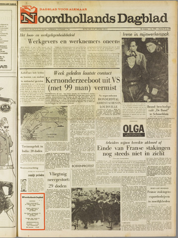 Noordhollands Dagblad : dagblad voor Alkmaar en omgeving 1968-05-28