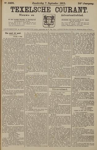 Texelsche Courant 1911-09-07
