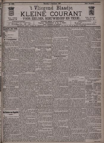 Vliegend blaadje : nieuws- en advertentiebode voor Den Helder 1897-09-04