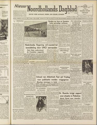 Nieuw Noordhollandsch Dagblad : voor Alkmaar en omgeving 1949-03-15