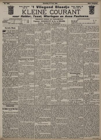 Vliegend blaadje : nieuws- en advertentiebode voor Den Helder 1908-06-27