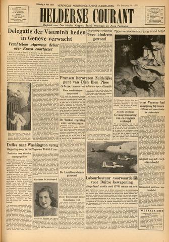 Heldersche Courant 1954-05-04