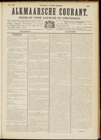 Alkmaarsche Courant 1910-10-10