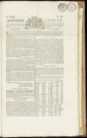 Alkmaarsche Courant 1843-07-31