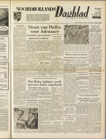 Noordhollands Dagblad : dagblad voor Alkmaar en omgeving 1953-09-04
