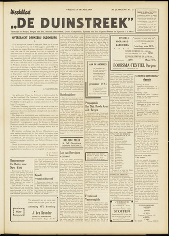 De Duinstreek 1963-03-29