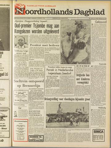 Noordhollands Dagblad : dagblad voor Alkmaar en omgeving 1967-07-22